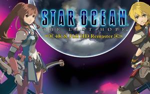 Star Ocean, Last Hope - 4K, Full HD Remaster