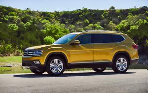 Πρώτη, Volkswagen Atlas, proti, Volkswagen Atlas