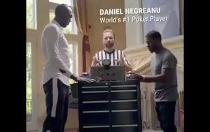 Kevin Hart, Usain Bolt, Daniel Negreanu