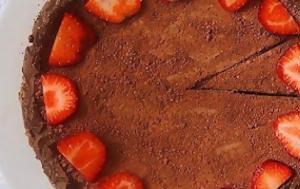 Η πιο υγιεινή εκδοχή της σοκολατένιας τάρτας