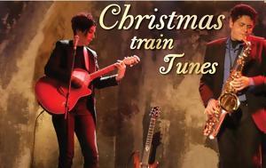 Christmas Train Tunes, Θέατρο, Τρένο, Ρουφ, Christmas Train Tunes, theatro, treno, rouf