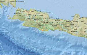 Φονικός σεισμός, 65 Ρίχτερ, Ινδονησία, fonikos seismos, 65 richter, indonisia