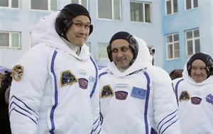 Καζακστάν, Πύραυλος Σογιούζ, Διεθνή Διαστημικό Σταθμό, kazakstan, pyravlos sogiouz, diethni diastimiko stathmo