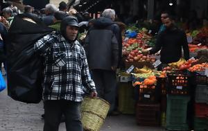 Στους δικαιούχους τα κουπόνια για τις λαικές αγορές