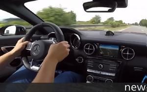 Τέρμα, Mercedes-AMG SLC 43, Autobahn +VIDEO, terma, Mercedes-AMG SLC 43, Autobahn +VIDEO