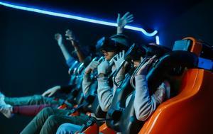 Ήρθε, 360 VR X-TREME Game, Allou Fun Park, irthe, 360 VR X-TREME Game, Allou Fun Park