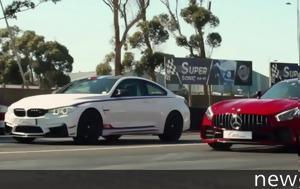 Video, BMW M4 DTM Champion Edition, Mercedes-AMG GT R