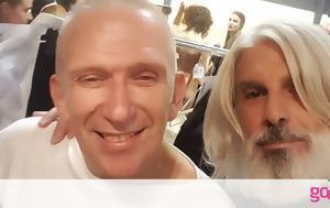 Μάνος Πίντζης, Jean Paul Gaultier, manos pintzis, Jean Paul Gaultier