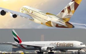 Emirates, Etihad Airways