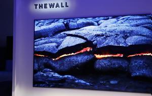 Samsung, Γιγανοτηλεόραση, Τhe Wall, Samsung, giganotileorasi, the Wall