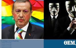 Anonymous Greece, Ερντογάν, Anonymous Greece, erntogan