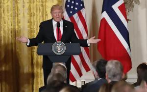 Νορβηγοί, Τραμπ, ΗΠΑ, norvigoi, trab, ipa