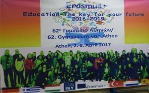 62ο Γυμνάσιο Αθηνών, Ευρωπαϊκό Πρόγραμμα Erasmus+, 62o gymnasio athinon, evropaiko programma Erasmus+