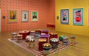 Hassan Hajjaj, Andy Warhol, Marrakech, Τέχνης, Hassan Hajjaj, Andy Warhol, Marrakech, technis