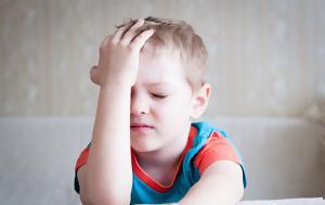 Οι αιτίες των παιδικών πονοκεφάλων