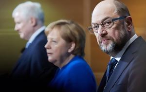 Μέρκελ, Σοσιαλδημοκράτες, merkel, sosialdimokrates