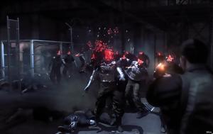 Metal Gear Survive, Γευθείτε, Metal Gear Survive, geftheite