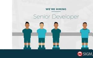 Κενή Θέση, Senior Web Developer, keni thesi, Senior Web Developer