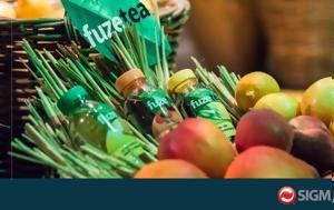 Έρχεται, FUZETEA, Coca#45Cola Company, erchetai, FUZETEA, Coca#45Cola Company