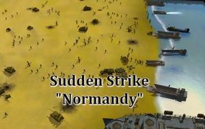 Sudden Strike Normandy, Δωρεάν, Νορμανδία, Sudden Strike Normandy, dorean, normandia