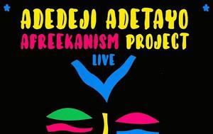 Adedaji Adedayo Afreekanism Project Live Notos Jazz Bar