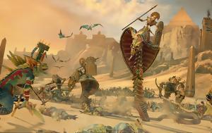 Total War Warhammer 2, Παίζοντας, Rise, Tomb Kings DLC, Total War Warhammer 2, paizontas, Rise, Tomb Kings DLC
