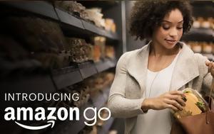 Amazon Go Store, Ανοίγει, Η Π Α, Amazon Go Store, anoigei, i p a