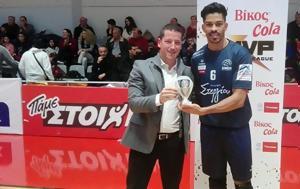 Ιγκόρ Ντε Σόουζα, MVP Βίκος Cola, igkor nte soouza, MVP vikos Cola