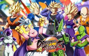 Έκρηξη, Dragon Ball, FighterZ, ekrixi, Dragon Ball, FighterZ