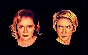 Οι Διαβολογυναίκες, Μαρία Καβογιάννη, Καίτη Κωνσταντίνου, Θέατρο Τζένη Καρέζη, oi diavologynaikes, maria kavogianni, kaiti konstantinou, theatro tzeni karezi