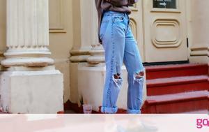 Aν φοράς πάντα flat παπούτσια αυτά τα jeans πρέπει να έχεις μόνο στην γκαρνταρόμπα σου
