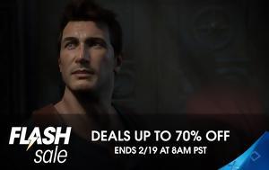 Flash Sale Εκπτώσεις, PlayStation, Flash Sale ekptoseis, PlayStation