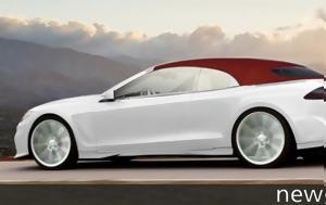 """""""ανοιχτό"""" Tesla Model S, Ares Design, """"anoichto"""" Tesla Model S, Ares Design"""