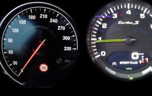 BMW M760Li Vs Porsche Panamera Turbo S E-Hybrid, 0-290