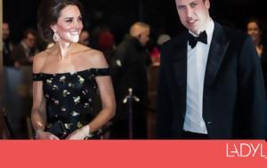 BAFTAs 2018, Kate Middleton, BAFTAs