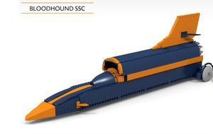 Bloodhound SSC, Lego