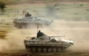 156 BMP-22K Sarath, Ινδικό Στρατό, 156 BMP-22K Sarath, indiko strato