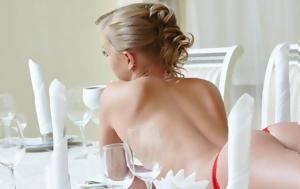 Τα «γυμνά γεύματα» είναι η νέα γαστριμαργική μόδα!