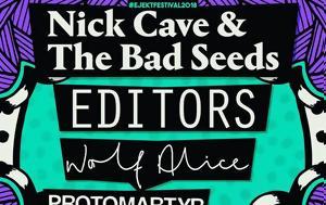 Nick Cave #x26, Bad Seeds, Editors +, Ejekt Festival