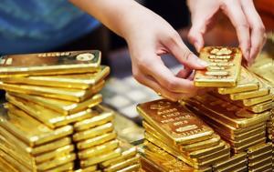 Οι φόβοι για εμπορικό πόλεμο «έστειλαν» σε υψηλό σχεδόν 1 εβδομάδας τον χρυσό