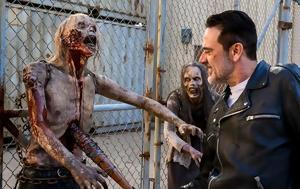 Walking Dead S8E11, O Dwight, Ιησούς, Walking Dead S8E11, O Dwight, iisous