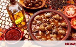 Συνταγή, Επιφάνιου, Σαλιγκάρια, syntagi, epifaniou, saligkaria