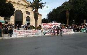 Μήνυμα, Φασισμού, Χανιά, minyma, fasismou, chania