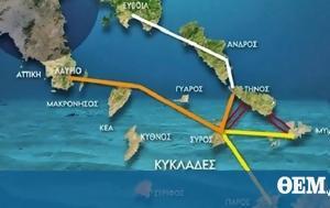 Alexis Tsipras, Cycladic Islands-mainland