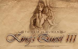 Kings Quest III Redux, Heir, Human -, Adventure Game
