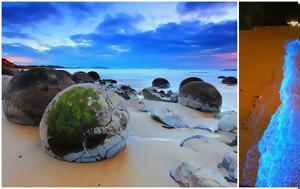 17 Μαγευτικές Παραλίες, Κόσμο, Μοιάζουν, Ψεύτικες, Αληθινές, 17 mageftikes paralies, kosmo, moiazoun, pseftikes, alithines