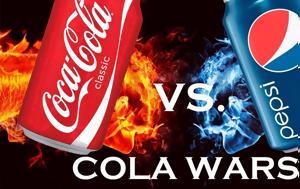 ΕΠΙΚΗ, Coca Cola, Pepsi, epiki, Coca Cola, Pepsi