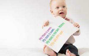 Γιατί πρέπει να μιλάτε στα μωρά σαν να είναι… ενήλικες!