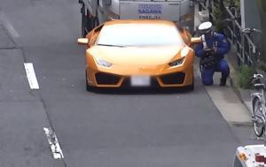 Απίστευτο, Αστυνομικός, Lamborghini, | Video, apistefto, astynomikos, Lamborghini, | Video