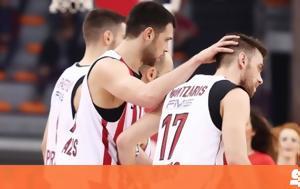 Kostas Papanikolaou, Olympiacos BC - SK Efes Anadolu